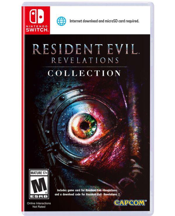 Nintendo Switch Game: Resident Evil Revelations 1