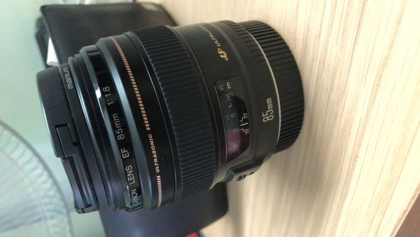 Canon lens 85mm