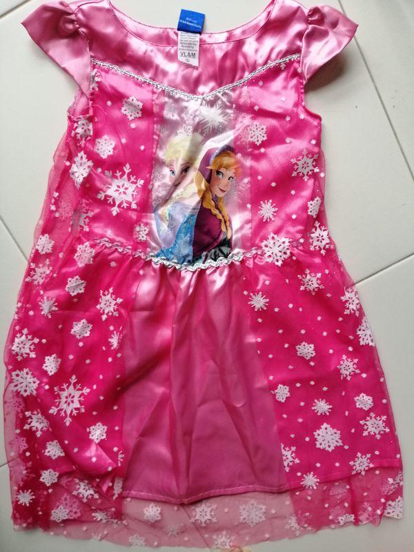 Frozen Pink Girl Dress