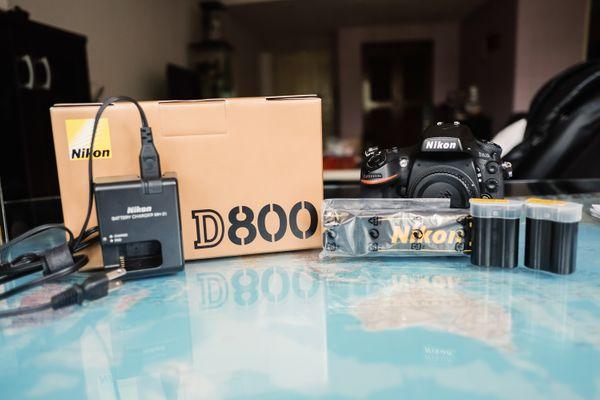 D800 Set For Rental
