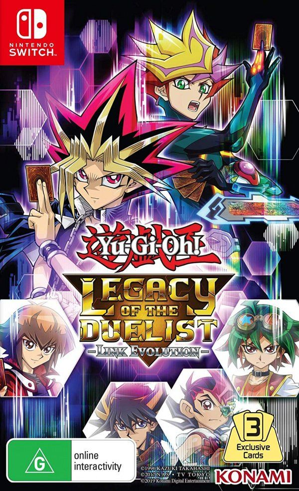 (Nintendo Switch) Yu-Gi-Oh! Legacy of the Duelist -Link Evolution-