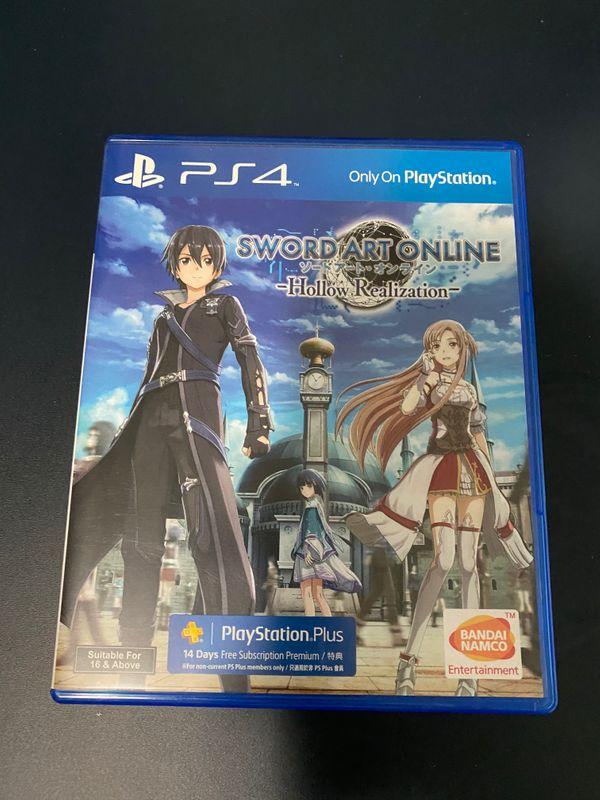 Sword Art Online HOLLOW Realization SAO PS4
