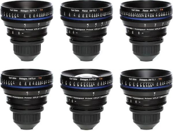 Zeiss Cp.2 PL Mount Complete Set