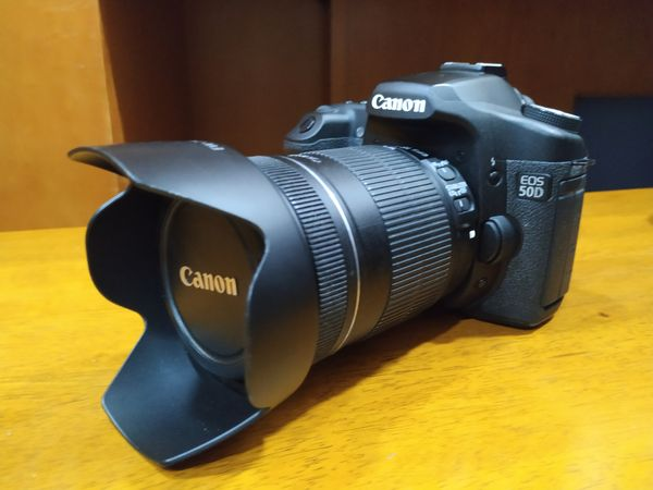 Canon 50D Mark I Set (Body + Lens + Battery grip)