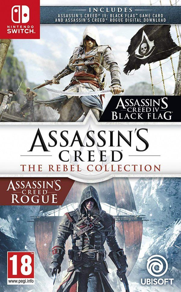 Nintendo Switch Game: Assassin's Creed The Rebel Collections
