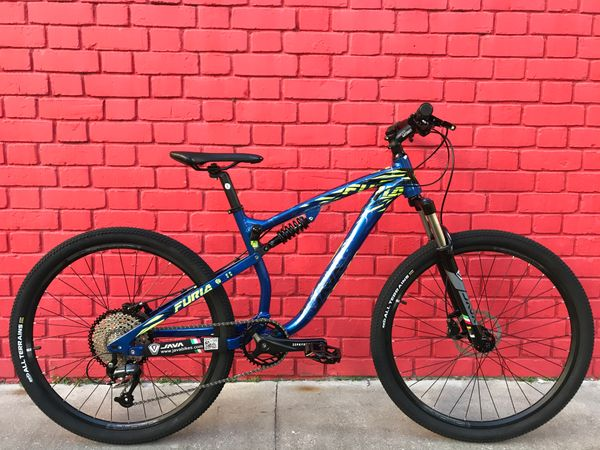 Full suspension Mountain bike Java Furia 9S