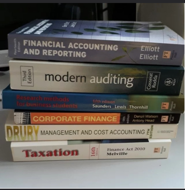 Referrence Books: Finance/Accounting/Taxation/Auditing
