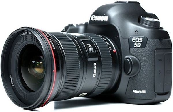 Canon 5D Mark III Set With 16-35mm F2.8L II And Tripod