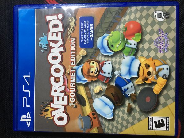 Overcooked! gourmet edition for the PS4