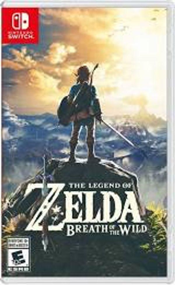 Legend of Zelda Breath of the Wild Nintendo Switch