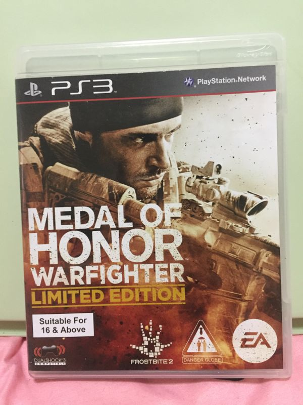 PS 3 Games:Medal Of Honor
