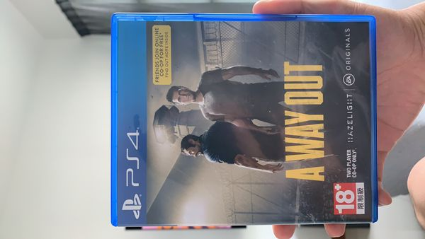 A Way Out PS4. $1 a day!