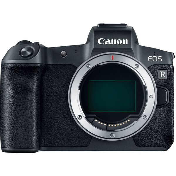 Canon EOS R with RF to EF Adapter