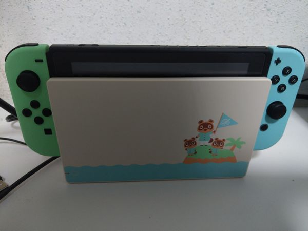 New Nintendo Switch Animal Crossing Edition