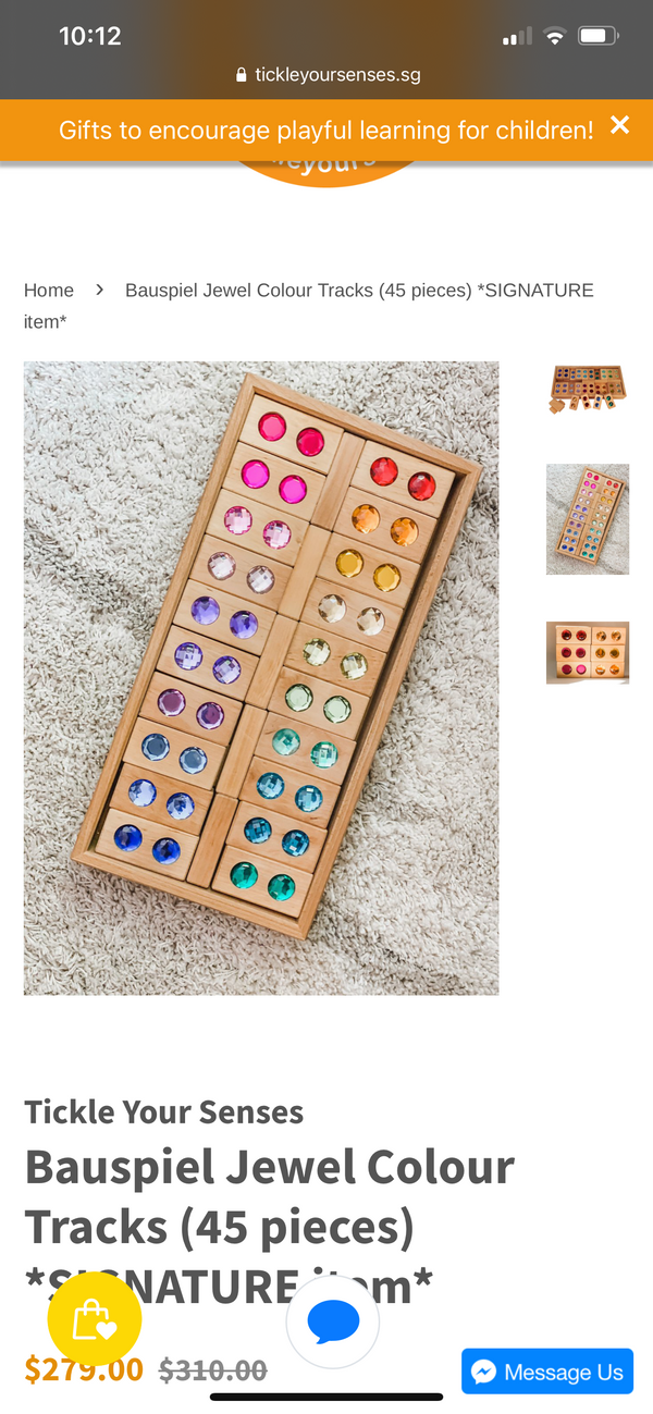 Bauspiel Jewel Colour tracks