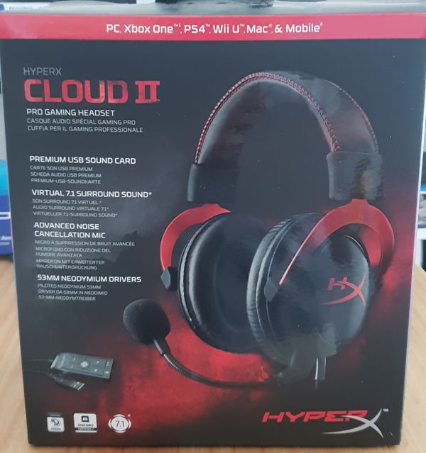 Cloud 2 Hyper X Gaming Headset