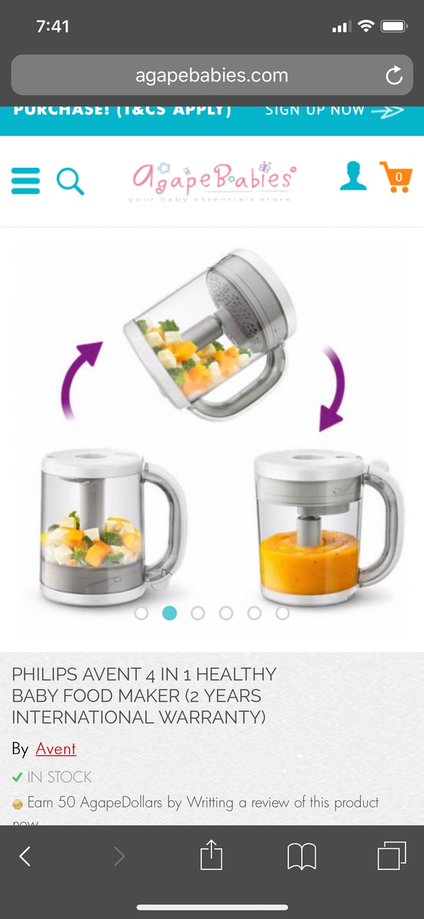 Philips Blender for baby