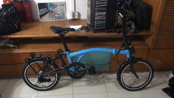 Folding bicycle Brompnot