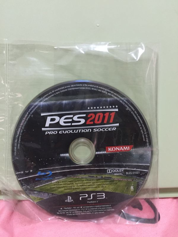 PS 3 Games:Pro Evolution Soccer PES 2011