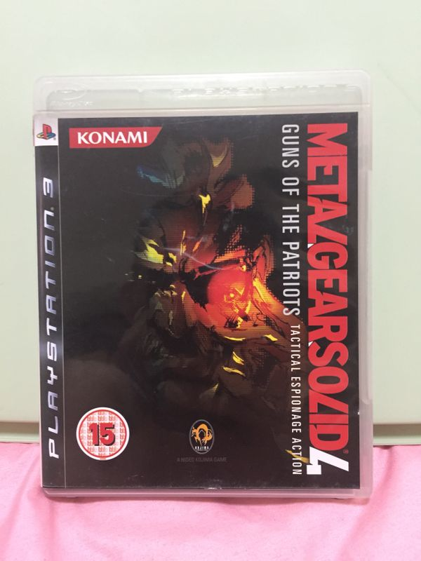 PS 3 Games:Metal Gear Solid 4