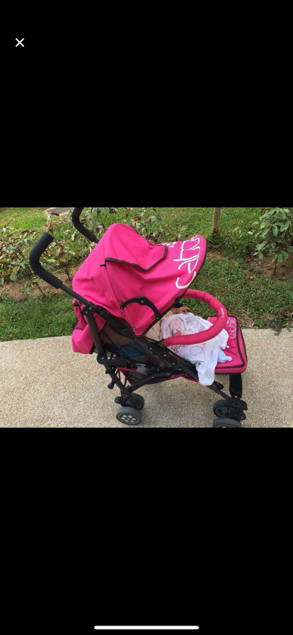 Pink Baby Stroller For Rent