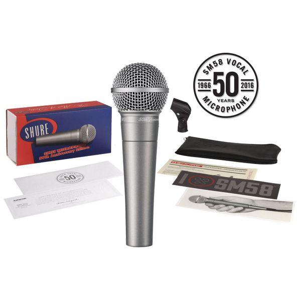 Shure SM58-50A 50th Anniversary Edition