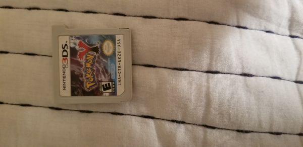 Pokemon Y (3DS Version)