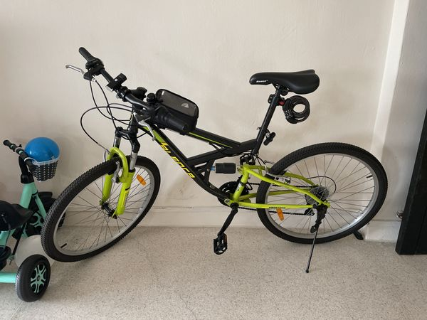Adult Bicycle with Front & Back Suspension