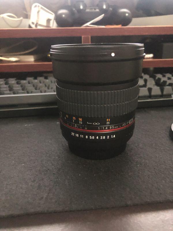 Samyang 85mm AS IF UMC lens