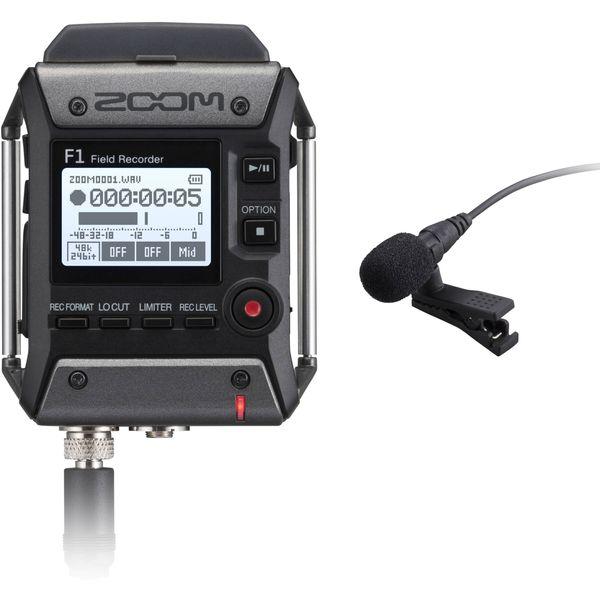 Zoom F1 lavelier recorder