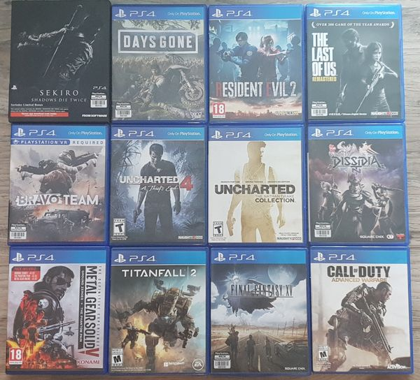 PS4 Game Titles