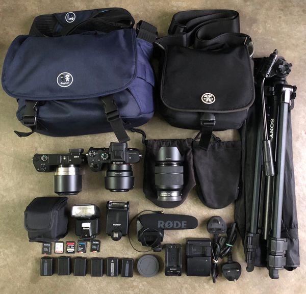 Camera Rental Sewa Kamera Sony A7iii A7sii A7ii GoPro DJI Gimbal DJI Ronin SC Drone DJI Mavic Pro