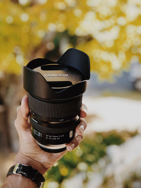 Canon 5D Mark 4 + Tamron 24-70 f2.8 G2