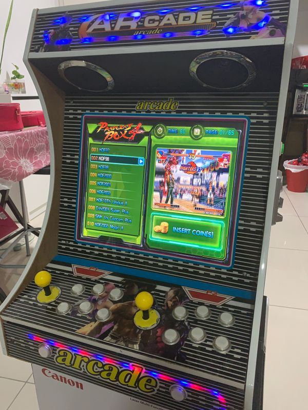 Game Machine 600plus games