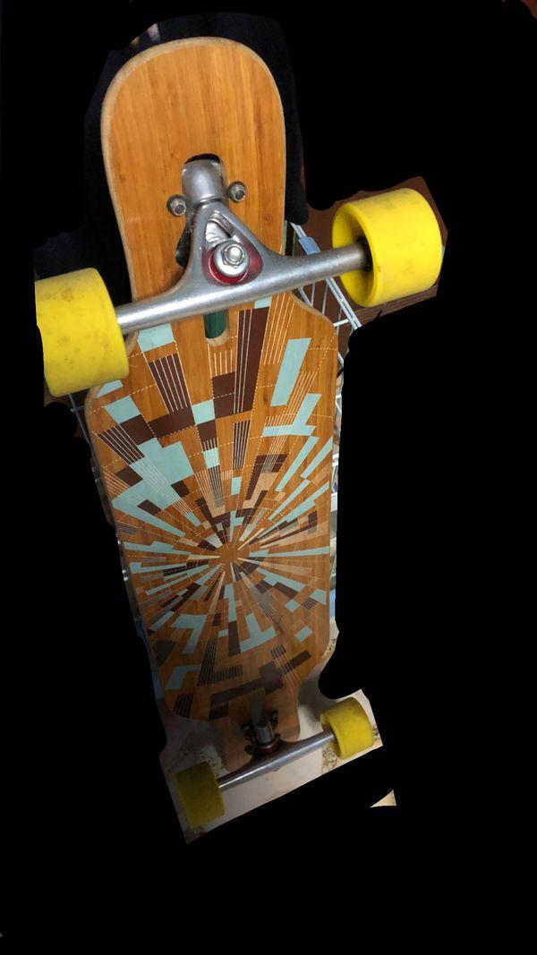 loaded longboard