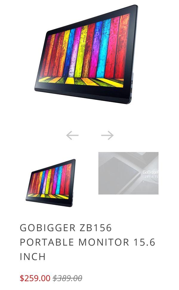 Gobigger 15.6inch portable monitor