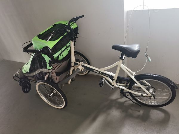 Zigo Leader X2 child carrier bike