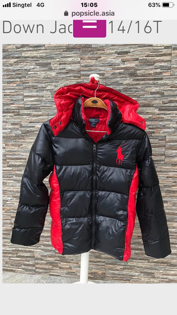 Polo Ralph Lauren Down Jacket for boys, 4T, 5T, 6T, 7T, 8T