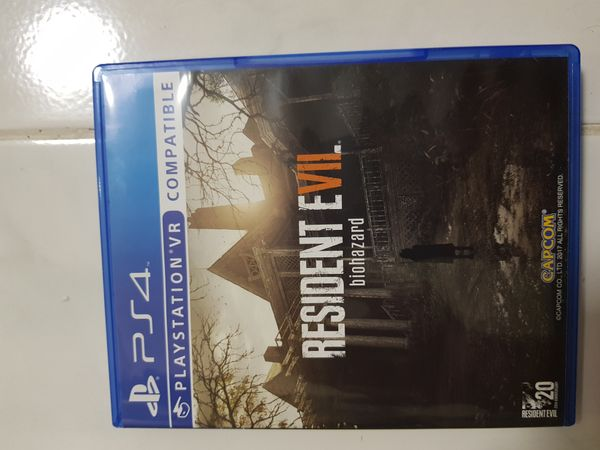 Resident Evil Biohazard (Ps4 Game with VR Compatible)
