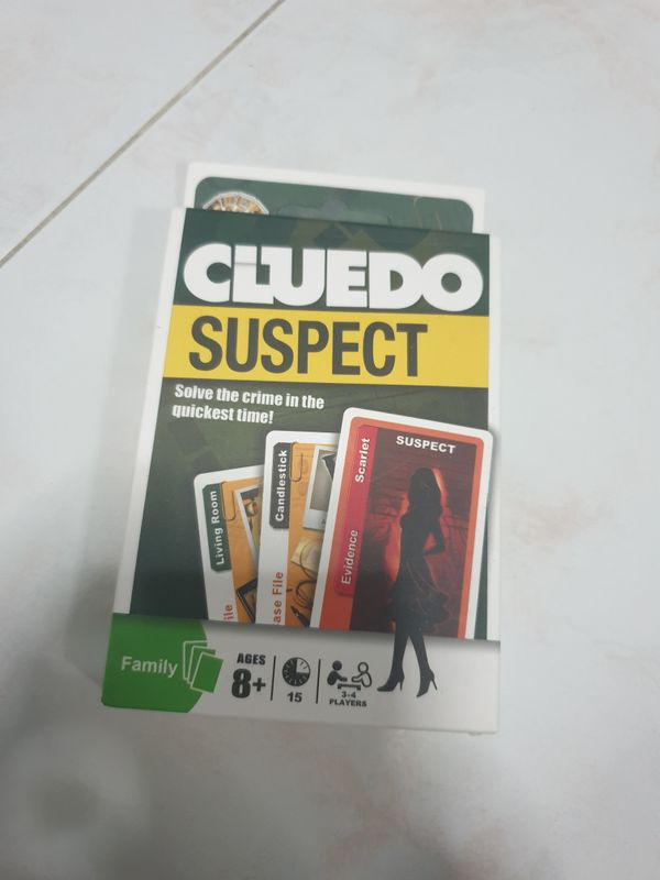 Cluedo Card Game