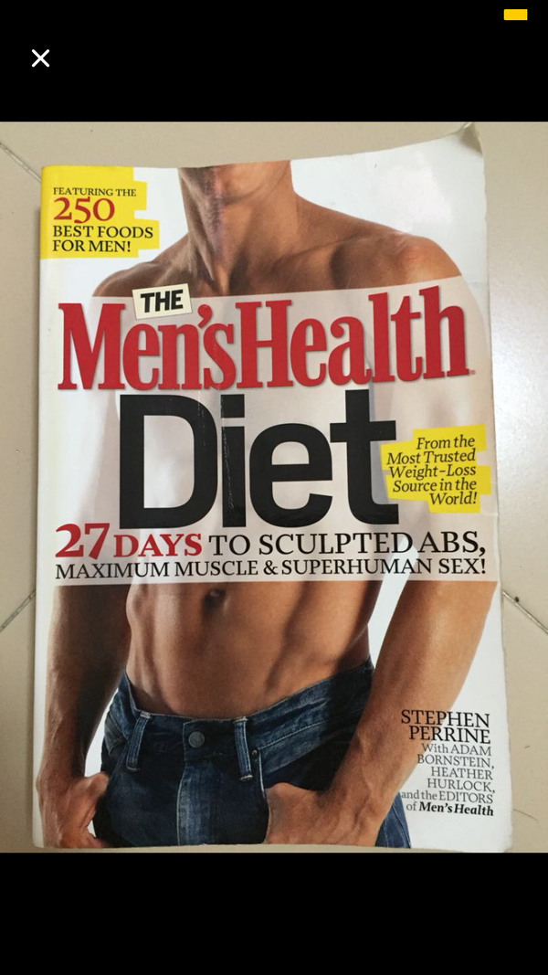 Men's Health Diet