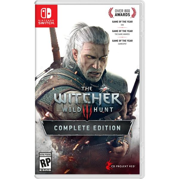 Nintendo Switch Game: The Witcher Wild Hunt