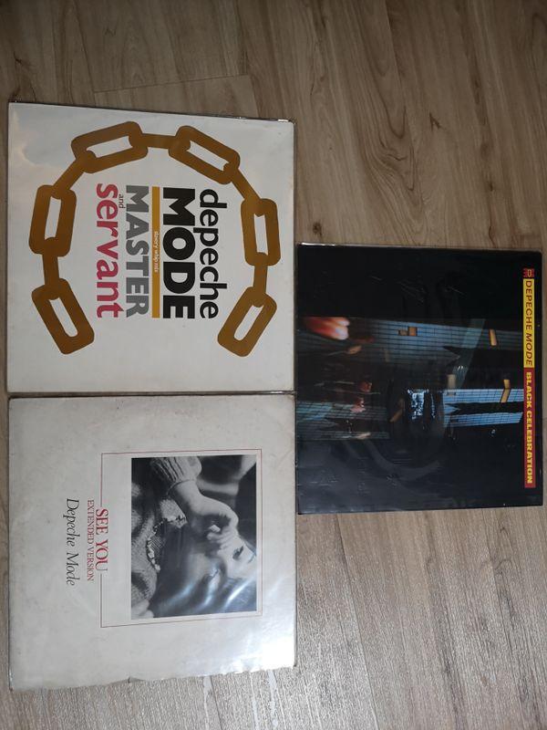 Depeche Mode Vinyl LP Records