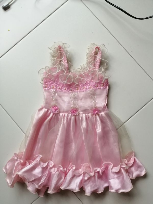 Pink Girl Dress For Function