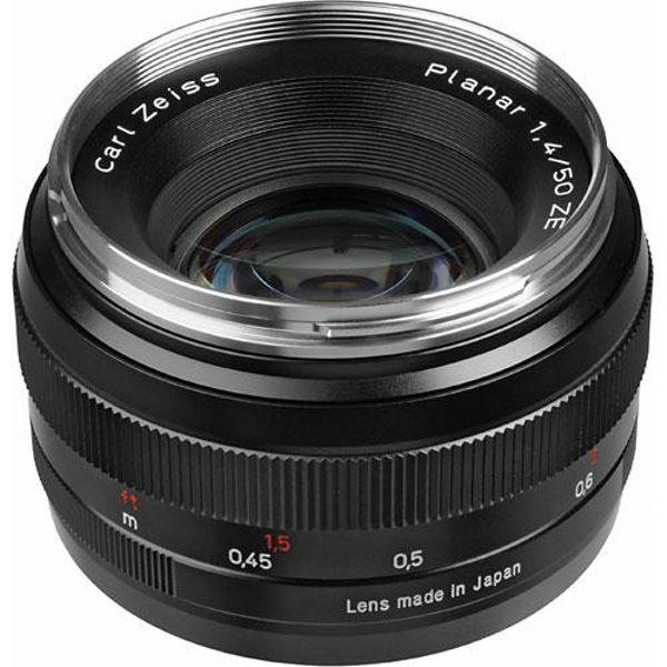 Zeiss Planar T* 50mm f/1.4 ZE (Canon Mount)