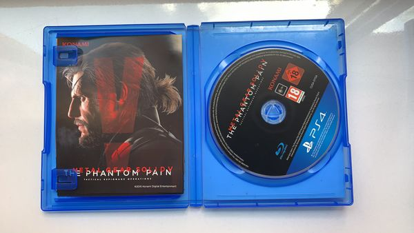 PS4 Metal Gear Solid 5: The Phantom Pain