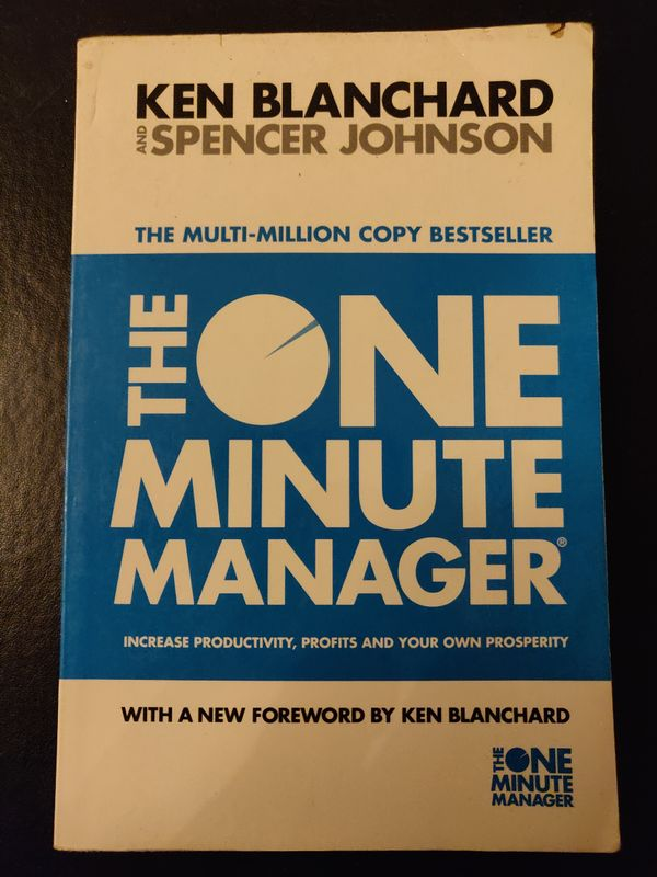 The One Minute Manager - Ken Blanchard & Spencer Johnson