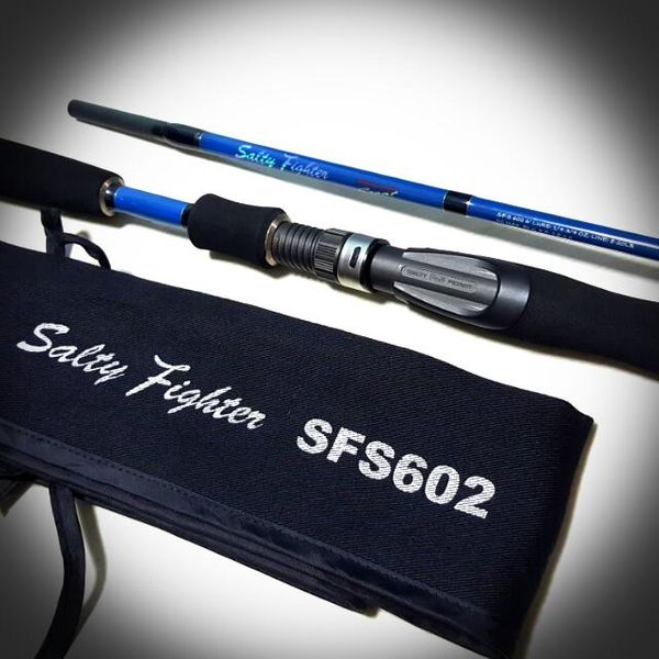 Salty fighter fishing rod