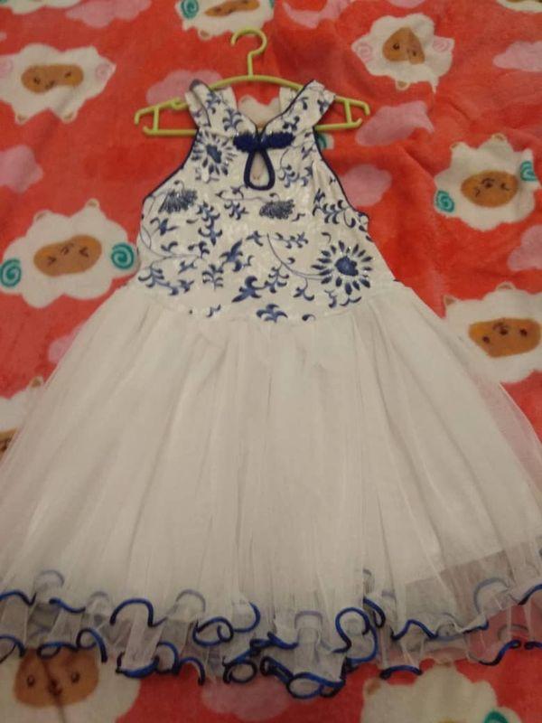 3yo Girl Cheongsam Collar Dress