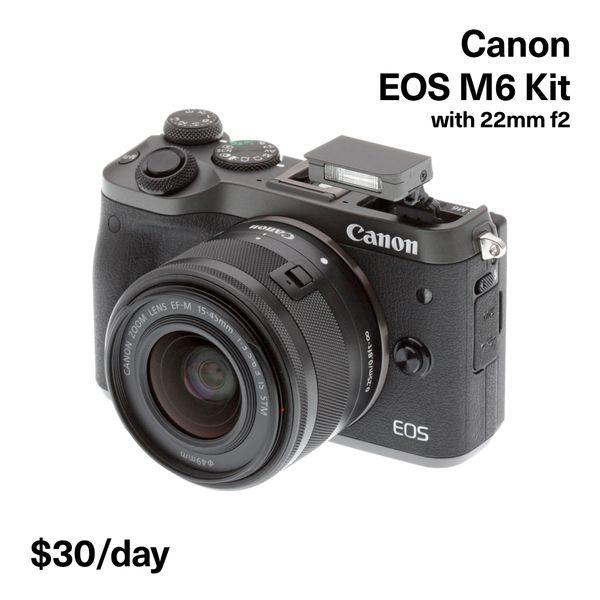 Canon EOS M6 + 22mm